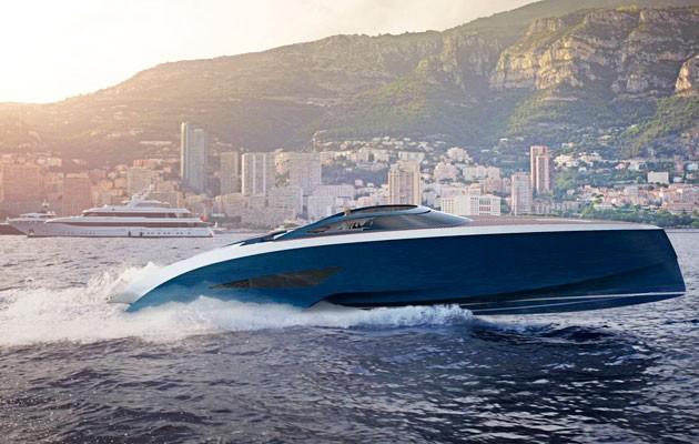 bugatti speedboat concept designed by palmer johnson velos. Black Bedroom Furniture Sets. Home Design Ideas